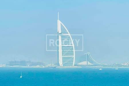 شقة 1 غرفة نوم للبيع في نخلة جميرا، دبي - Full Sea View   1 Bed   Palm Jumeirah