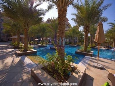 فلیٹ 1 غرفة نوم للايجار في نخلة جميرا، دبي - 1 BR with Sea & Marina view