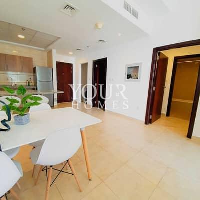 فلیٹ 1 غرفة نوم للايجار في أبراج بحيرات الجميرا، دبي - Fully furnished 1 bedroom for rent