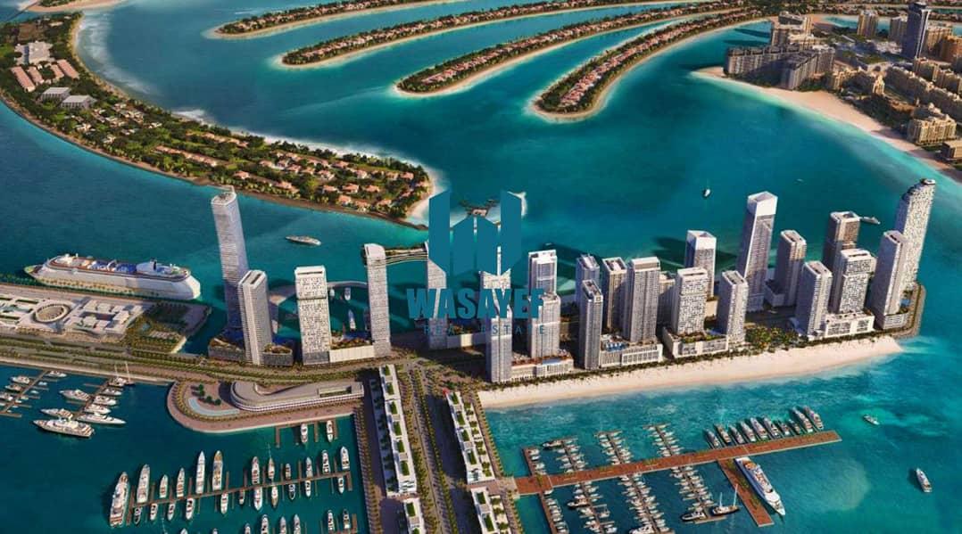 شقة في سانرايز باي إعمار الواجهة المائية دبي هاربور 3 غرف 4900000 درهم - 5208739