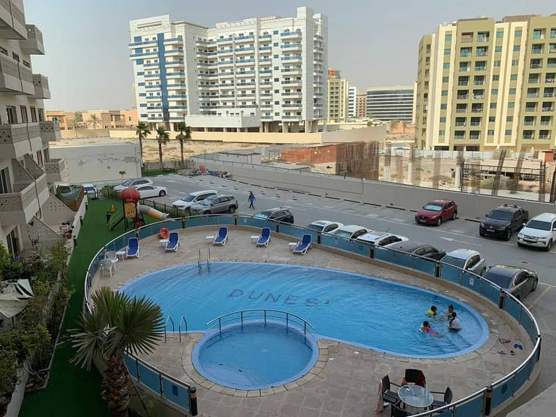 2 Upgraded 1BHK   Pool View   Next to Silicon Center