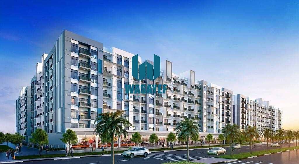 شقة في لونز من دانوب المدينة العالمية 2 غرف 727000 درهم - 5324378