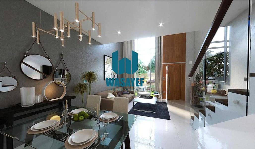 Villa with 7 years payment plan