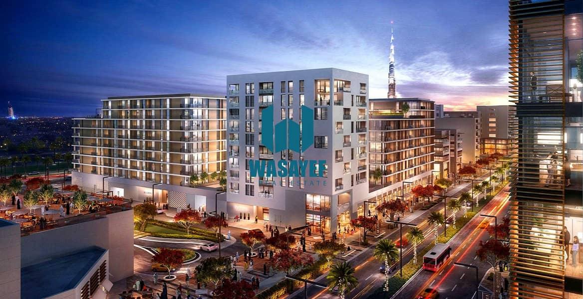 شقة في بارك بوينت دبي هيلز استيت 1 غرف 900000 درهم - 5238771