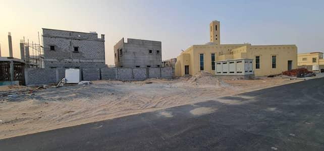 Plot for Sale in Al Zahya, Ajman - Owns land in Al Zahia, Al Maha Falaj project, on the street, adjacent to the mosque