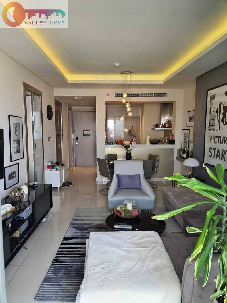 شقة فندقية في برج D أبراج داماك من باراماونت للفنادق والمنتجعات الخليج التجاري 1 غرف 1100000 درهم - 5336196
