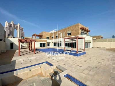 7 Bedroom Villa for Sale in The Marina, Abu Dhabi - Own this Spectacular 7BR Villa in a Wonderful Area
