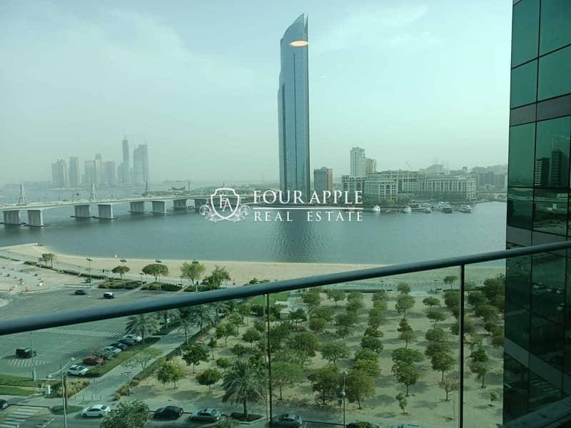 شقة في مرسى بلازا دبي فيستيفال سيتي 2 غرف 119000 درهم - 5294878