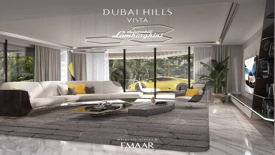 Golf Course and Park View  |  Lamborghini Villas |