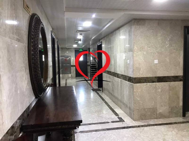 SUPER CLASSY FURNISHED STUDIO WITH SEPARATE KITCHEN AND BATHROOM LOCATED AT AL NAHYAN.