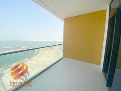 فلیٹ 1 غرفة نوم للايجار في شاطئ الراحة، أبوظبي - Newest Sea View  Perfect 1 Bedroom Unit