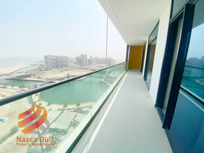 شقة في بناية كانال فيو شاطئ الراحة 2 غرف 120000 درهم - 5337427