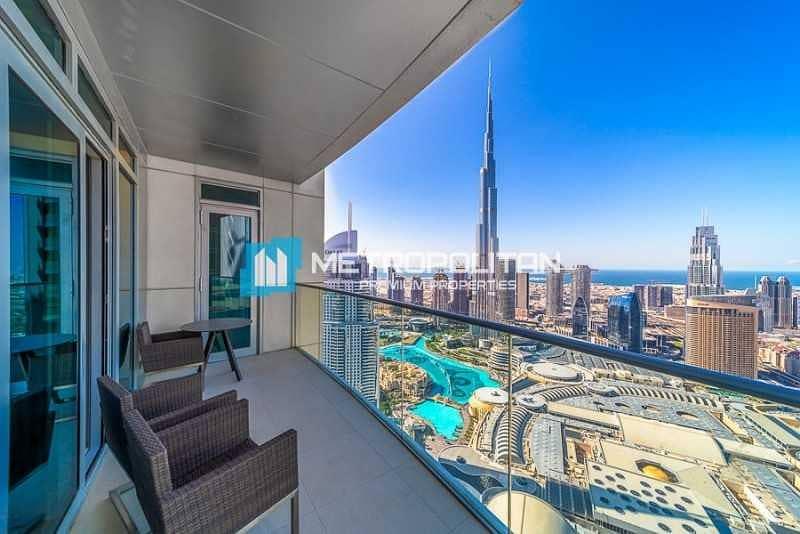 Burj Khalifa View I All Inclusive I High floor