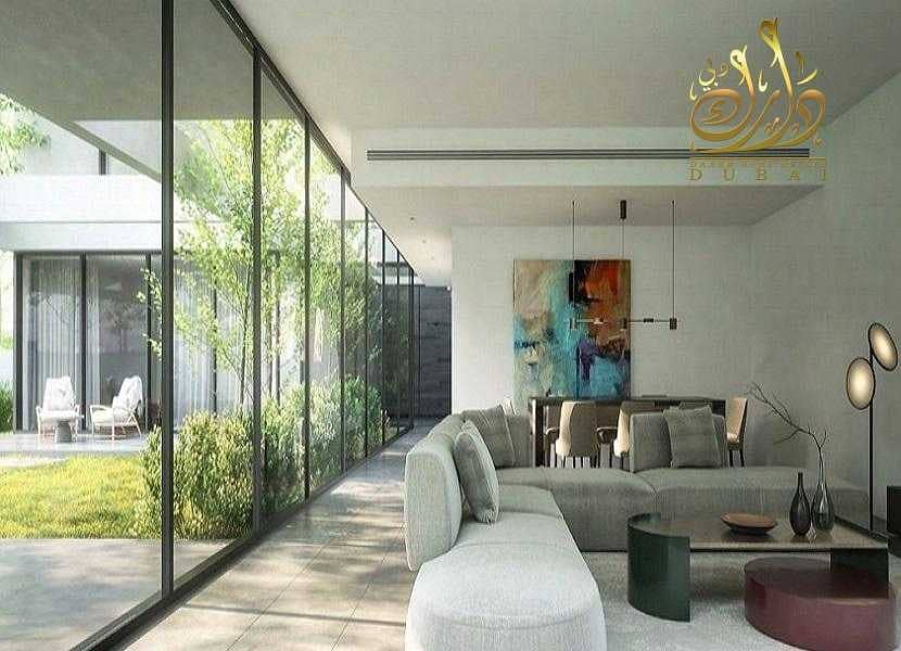 Own a 5-bedroom villa in the heart of Sharjah (Downtown)  In monthly installments with the developer until delivery and