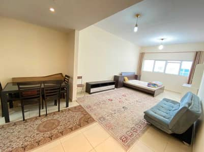 Studio for Rent in Al Sawan, Ajman - Studio furnished with parking for yearly rent in Ajman one tower