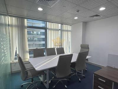مکتب  للايجار في برشا هايتس (تيكوم)، دبي - Fully Fitted Office in Grosvenor business Tower