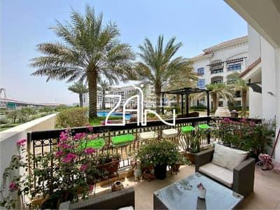 شقة 3 غرف نوم للبيع في جزيرة ياس، أبوظبي - Pool View 3 BR Corner Large Terrace Negotiable