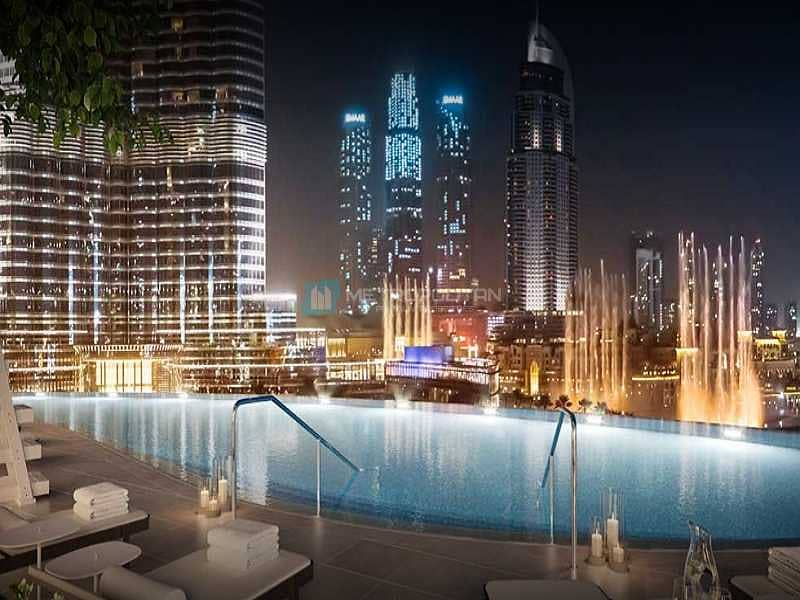 12 Luxurious View I Burj and Fountain Views