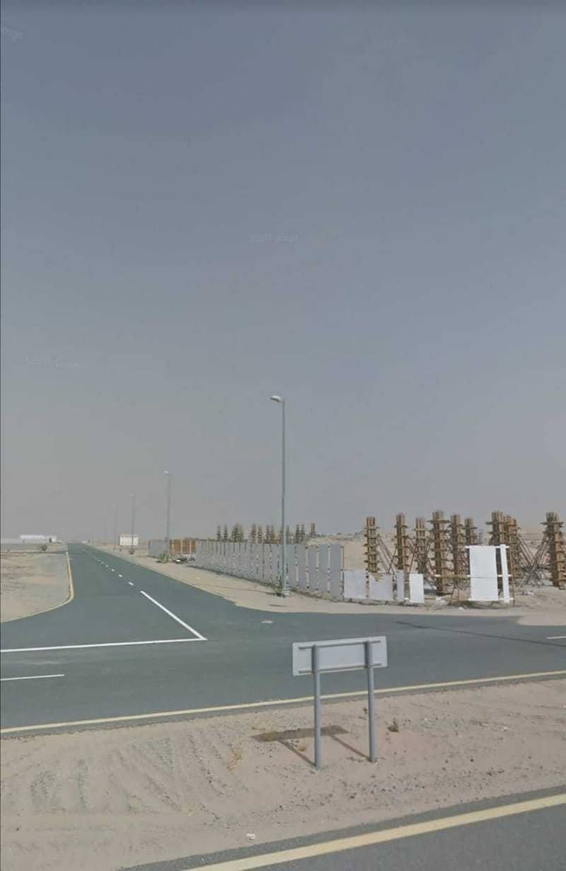 Land for sale in emirates industrial area blok 2
