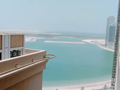 3 Bedroom Flat for Rent in Al Taawun, Sharjah - 1  month free spacious 3bhk with big balcony , wardrobes,maid room,gym pool free only 40k