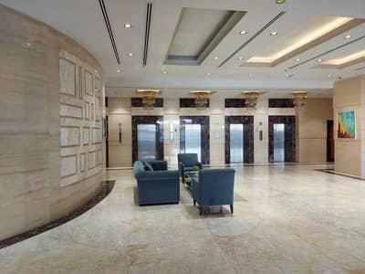 فلیٹ 1 غرفة نوم للبيع في شارع الشيخ مكتوم بن راشد، عجمان - اكبر غرفة وصالة  بالبرج الافخم بعجمان برج الكونكيور خدمات فندقية الوحيدة قسط 5300 مؤجرة 30 الف درهم سنويا اطلالة على المدينة