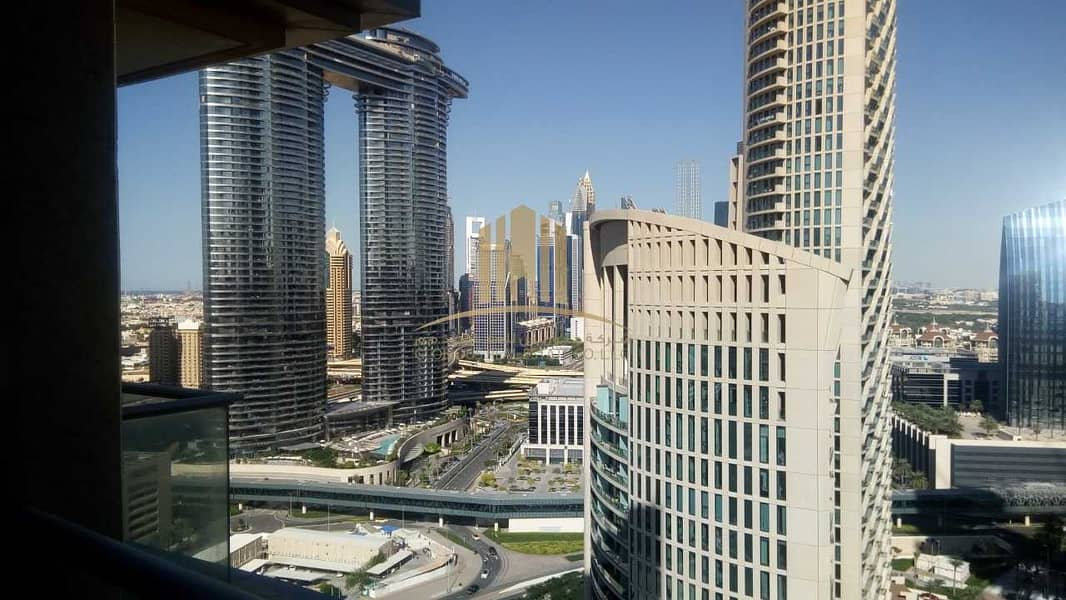 2 Amazing Downtown View   High Floor   Un- Furnished  