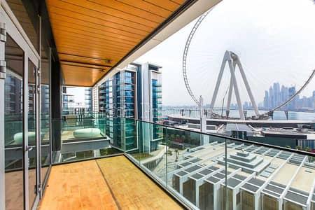 شقة 1 غرفة نوم للبيع في جزيرة بلوواترز، دبي - Full Ain Dubai View with Brand New