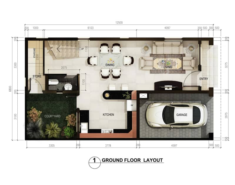 15 Brand New 2BHK Villa  with Store and Covered Parking For Sale