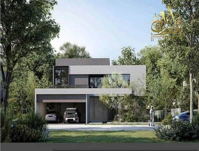 5 Bedroom Villa for Sale in Al Tai, Sharjah - Own a standalone villa with a private pool in installments with the developer