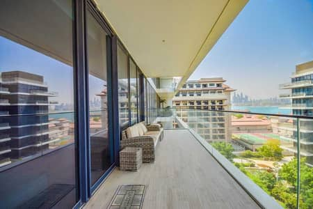 2 Bedroom Apartment for Rent in Palm Jumeirah, Dubai - Vacant | Fully Furnished | Beach and Sea Views