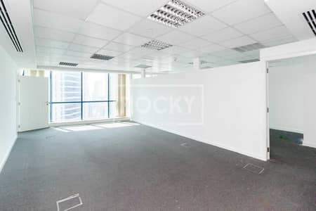 Office for Rent in Jumeirah Lake Towers (JLT), Dubai - Fitted Office|Partitioned|Close to Metro