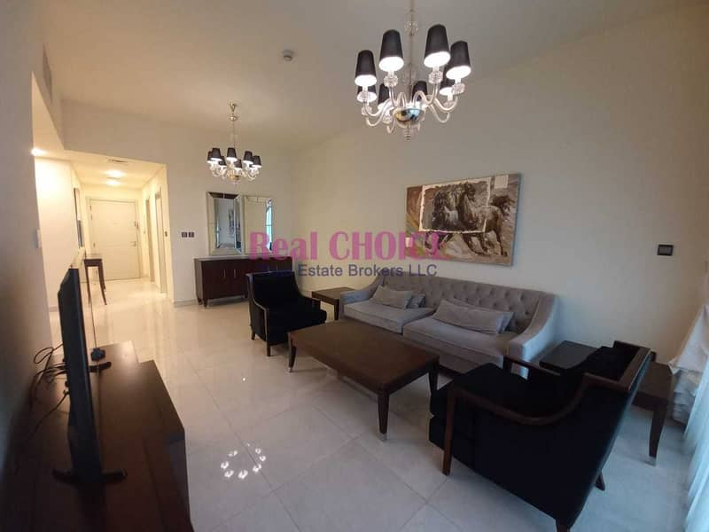 2 Furnished   2 Bed+Maids room   2 Balcony