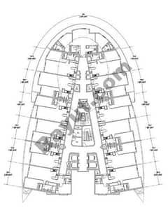 Floors (32-35) 1 Bedroom
