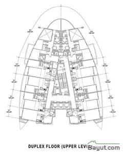 Duplex Floors Upper Level