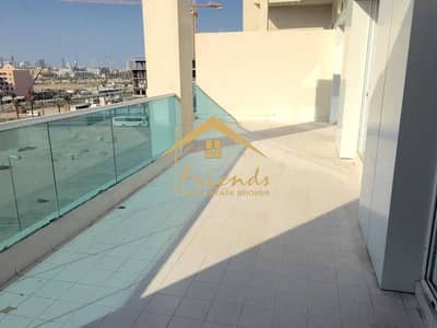 2 Bedroom Apartment for Rent in Al Barsha, Dubai - TWO BEDROOMS WITH BALCONY IN JVC IS FOR RENT Aed48000/-YEARLY