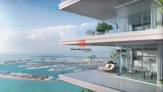 شقة في بيتش فيستا إعمار الواجهة المائية دبي هاربور 2 غرف 2988888 درهم - 5339812
