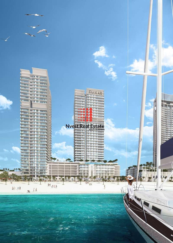 2 Ready 3 Bedroom-Beach Living-Emaar Beachfront-2 years Post Handover Payment Plan