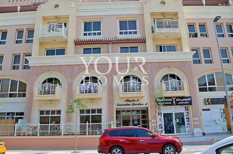16 OP | 1BHK 1230 sqf vacant Emirates Gardens 2 JVC