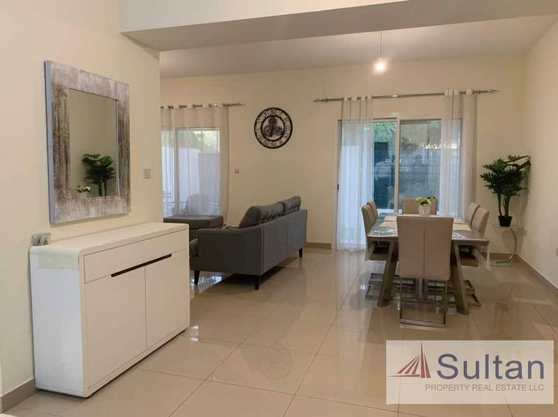 Fully Furnished 2+Maid Room Flamingo Villa For Sale