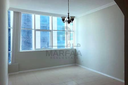 3 Bedroom Flat for Rent in Al Khan, Sharjah - 0% Comm l 3BHK Family Flat l Free Parking