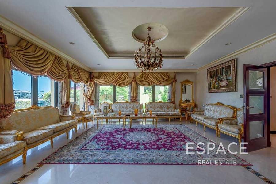 2 Elgantly Furnished | Atrium Entry | 6BR Plus Maids Villa