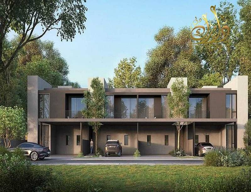 Own your villa in Masar with a down payment of 5%