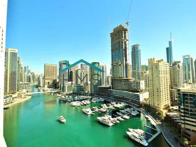 شقة 3 غرف نوم للايجار في دبي مارينا، دبي - 3BR+Maid   Marina View   Fresh Painted