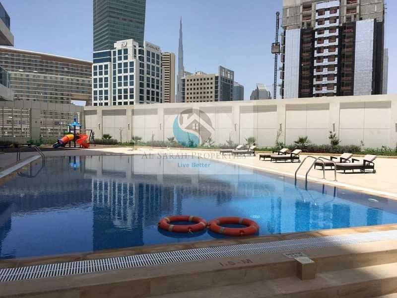 Studio Burj khalifa view