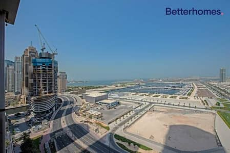3 Bedroom Apartment for Sale in Dubai Marina, Dubai - Full Sea View I 06 Layout I  Mid Floor I Modern