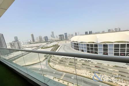 1 Bedroom Apartment for Rent in Dubai Sports City, Dubai - One Bed   Chiller Free   Full Stadium View