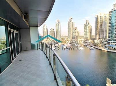 1 Bedroom Flat for Rent in Dubai Marina, Dubai - 1BR Unfunished Panoramic Marina View