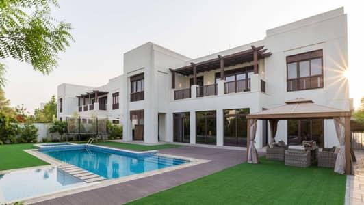 6 Bedroom Villa for Sale in Mohammed Bin Rashid City, Dubai - Modern Arabic-Style Villa Close to Lagoon
