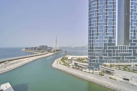 2 Bedroom Apartment for Rent in Dubai Marina, Dubai - Mid-Floor Unit with Bluewaters and Marina View