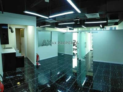 Office for Rent in Business Bay, Dubai - Fitted and Partitioned Office | Canal View | Fully Furnished